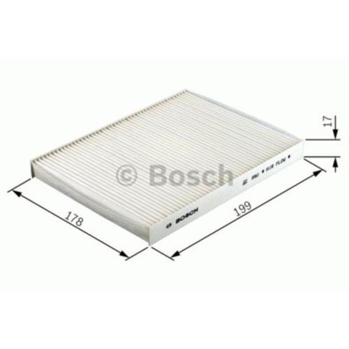Bosch filtro aria abitacolo per Corteco 80001172  ad Euro 31.34 in #Bosch automotive aftermarket #Automoto