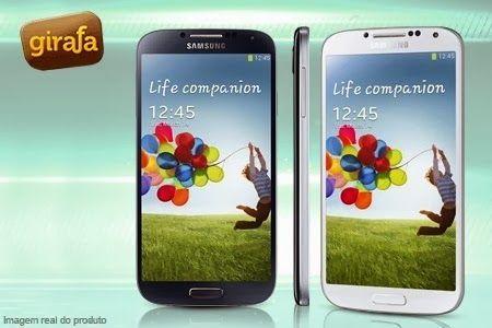 Compre já o seu Samsung Galaxy S4 com Android 4.2 e 4G, por 12x sem juros de R$ 149,99 + frete grátis.