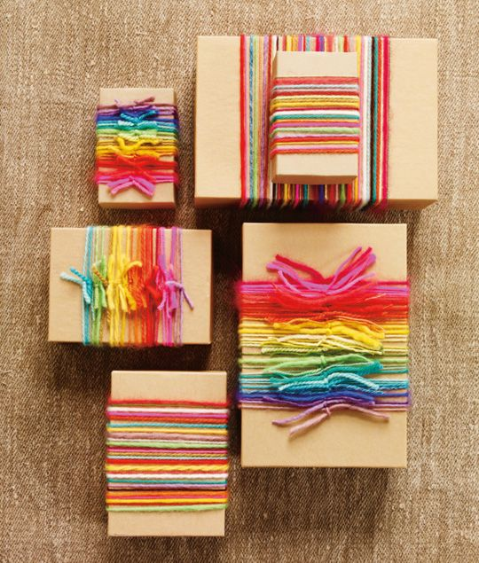 Colorful yarns that make every gift very special.