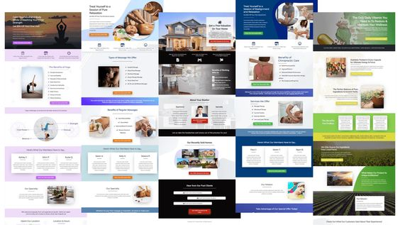 Local Business Clickfunnel Landing Page Examples In 2020 Sales Funnel Design Landing Page Examples Wellness Design