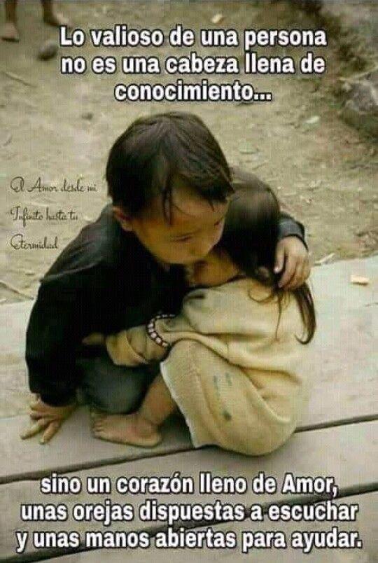 El Valor De Las Personas Niños Del Mundo Sentimientos Y