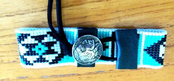 Authentic Native American Loom Beaded by CreationsByBusgoose