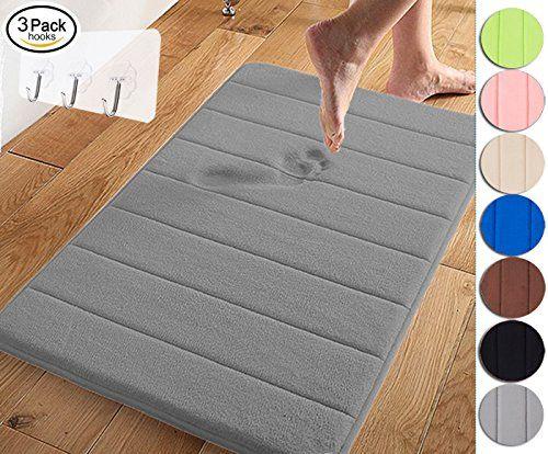 Yimobra Memory Foam Bath Mat Large Size 31 5 By 19 8 Inch Memory Foam Bath Mats Foam Bath Mats Memory Foam Large memory foam bath mat