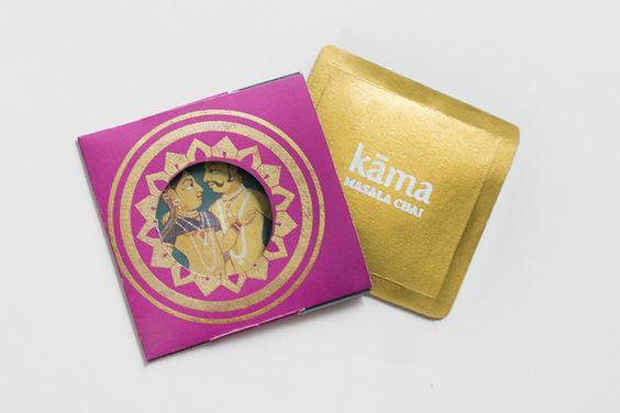 Kama Masala Chai on Behance