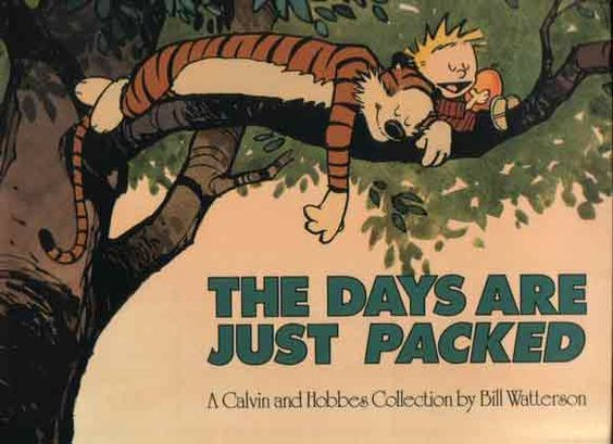 1993 The Days are Just Packed