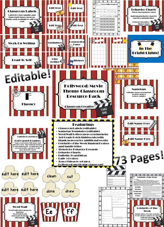 Classroom Decoration Word Worksheet ~ Posters cafetería recompensas de conducta and cartas a