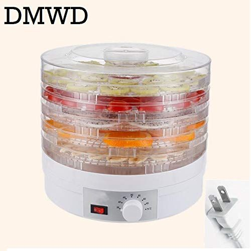 Food Dehydrator Dried Fruit Vegetable Herb Pet Meat Drying Machine Five Layer Snack Air Dryer 5 Trays Eu Us Plug Dehydrator Recipes Food Dryer Dehydrated Fruit
