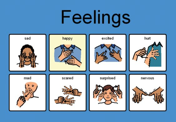 Sign language emotions : Good to know : Pinterest : Some ...