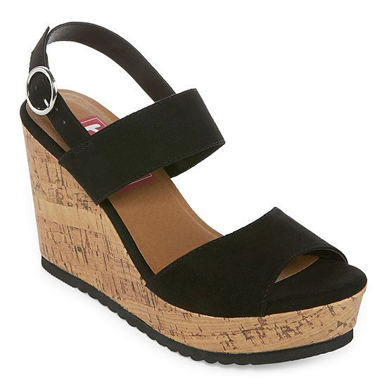 Wedge sandals, Wedges, Open toe shoes