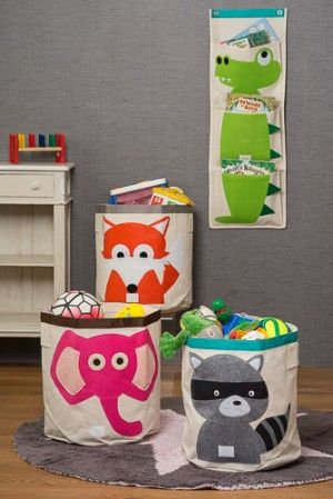 Children's BEDROOM STORAGE Toy Storage Bin DesResDesign.co.uk £33 - lots of matching items online