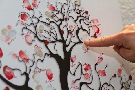 Pinterest the world s catalog of ideas - Hochzeitsbaum leinwand ...