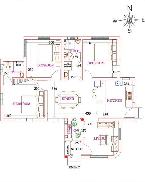 Vastu House Plans Central Courtyard Google Search Vastu House House Layout Plans House Plans