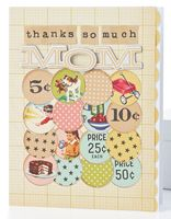 Thanks So Much Mom Card by @Teri Anderson - supplies and instructions included