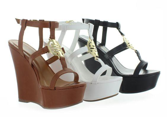 Sandalias de plataforma Carina