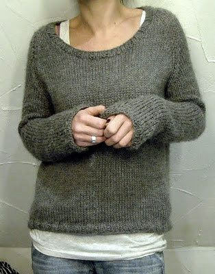 Perfect knitted sweater - looks so comfy