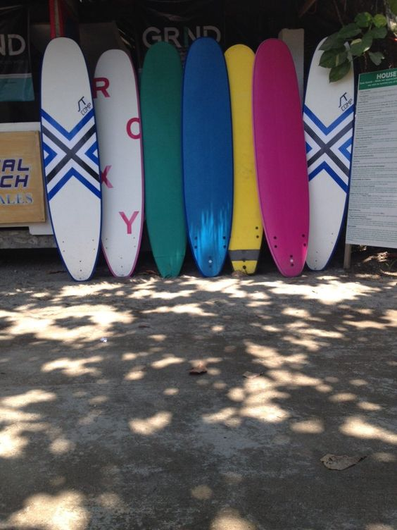 Colourful surfboards at Crystal Beach Resort, Phillipines. #hostel #camping #beach #philippinesbeach #manila #yelpseasia #beachholiday #backpacking #summerholiday #whitesand #beachresort #strawbeachumbrella #beachumbrella #surf #surfboard #colourfulsurfboards