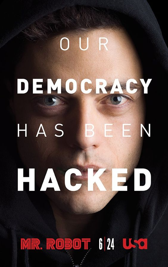 USA Network - Mr. Robot (TV Series 2015– ) GREAT show.