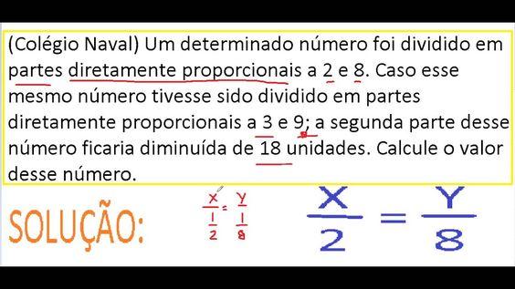 Curso de Matemática Números ou grandezas diretamente e inversamente prop...  https://youtu.be/Atg3-kBc14w