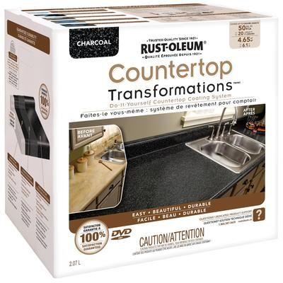 more rustoleum countertop countertops charcoal home depot canada home ...