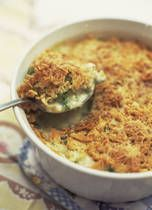Ham Casserole with Asparagus and Cheddar Cheese - Perfect if you have leftover ham!