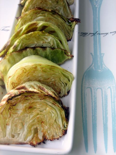 Baking, domesticity, and all things mini: Garlic roasted cabbage (round 1 recipe)