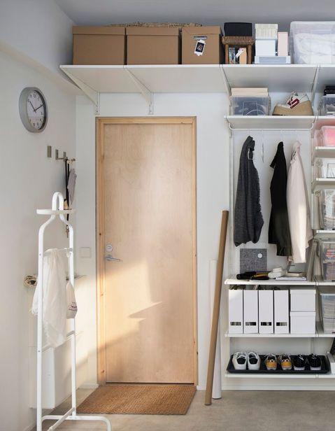 Ikea Les 20 Meilleures Idees Du Tout Nouveau Catalogue Elle Decoration Ikea Etagere Au Dessus Porte Meuble Vitrine Ikea