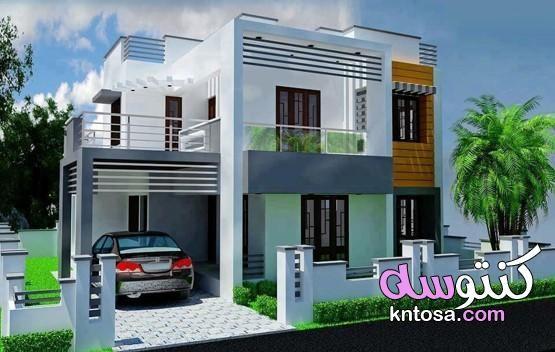 واجهات منازل من أجمل واجهات المنازل الحديثة تصميم منازل من الخارج جناااان House Elevation House Designs Exterior Building Plans