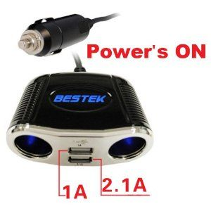 $13.99 BESTEK car cigarette lighter socket usb car charger Cigarette Lighter adapter socket car adapter dc to dc splitter adapter 3 way plug socket outlet three way car splitter charger dc with 12V socket 3 way car power adapter with 24V socket Samsung car charger PDA LG car charger motorola sony car charger .See more car power inverters at http://zbuys.com/level.php?node=3877=car-power-inverters