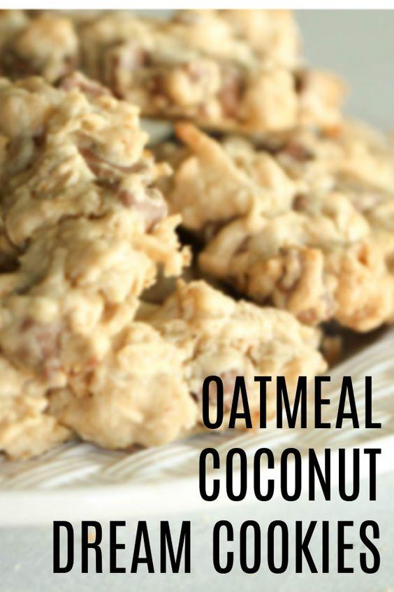 Oatmeal Coconut Dream Cookies
