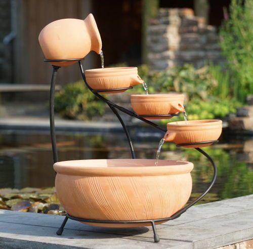Terracotta Brunnen Altea Online Kaufen Bei Zaun24 Schauen Sie