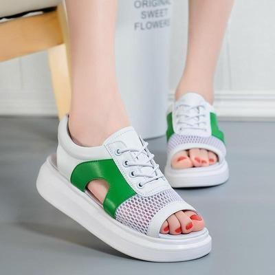 54 Platform Comfort Sandals That Make You Look Fabulous shoes womenshoes footwear shoestrends