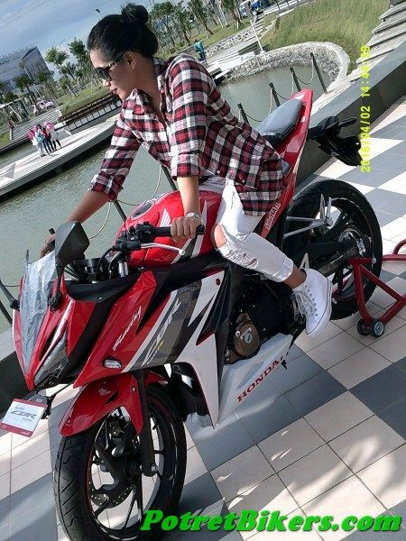 test ride honda cbr 150r lokal warna