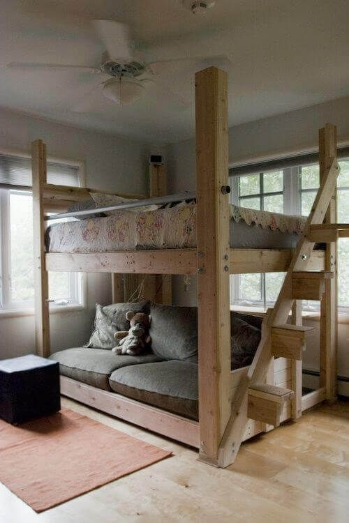 Why Buy When There Are These 34 Diy Bunk Beds Diy Loft Bed