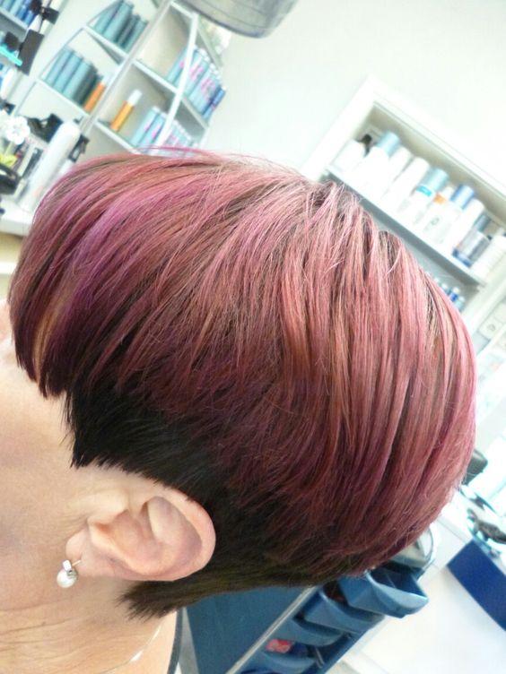 Short cut Hair Painting