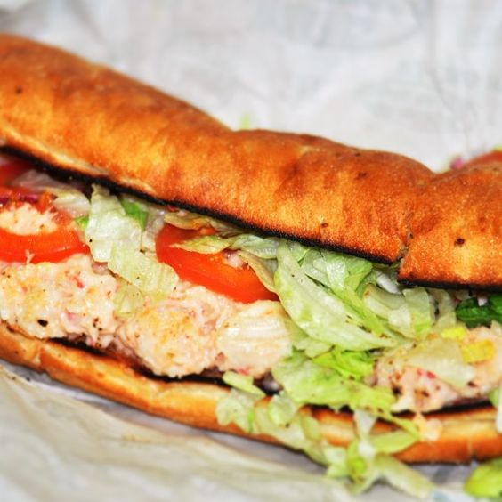 72/365 lobster salad sub #quiznos #subs #sandwich #food #potd #project365 #photoaday