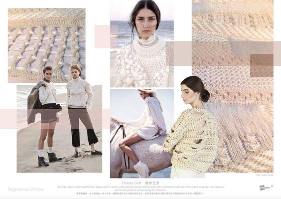 Segmented Whites   SPINEXPLORE - Trend fashion knitwear
