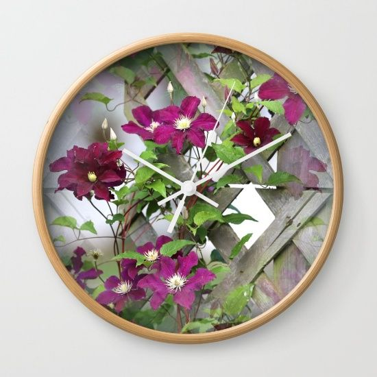 """#FLASH #SALE! #Free #Shipping on #Everything Today! 10% off ALL #HOME #DECOR #clocks  Available in natural wood, black or white frames, our 10"""" diameter unique Wall Clocks feature a high-impact plexiglass crystal face and a backside hook for easy hanging. Choose black or white hands to match your wall clock frame and art design choice. Clock sits 1.75"""" deep and requires 1 AA battery (not included)."""