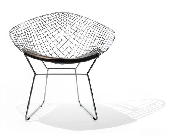Harry Bertoia Diamond Chair Mid Century Modern Rove Concepts