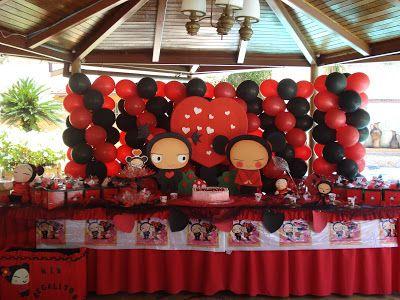 Pucca decoraci n de fiestas de cumplea os infantiles - Decoraciones para cumpleanos infantiles ...