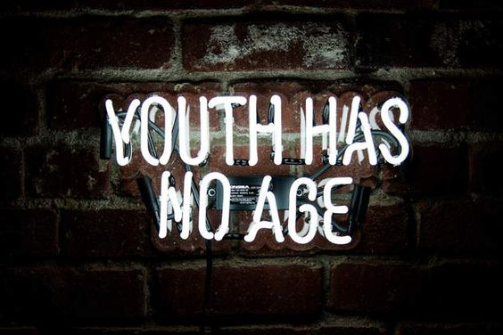 Youth Has No Age by Neon MFG on What Drops Now