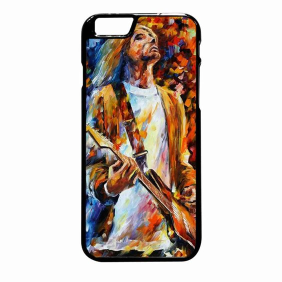Vintage Classic Rock N Roll Collection Grunge Icon Nirvana Kurt Cobain iPhone 6S Plus case