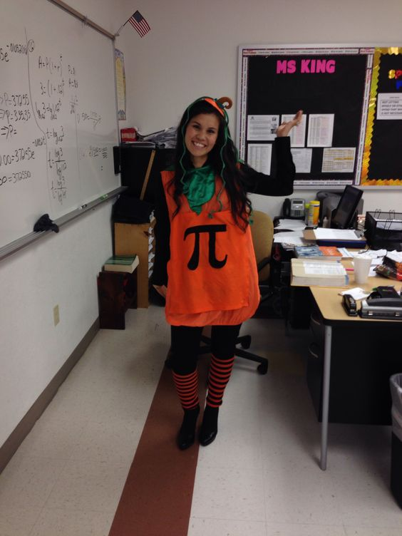 Halloween costume for math teachers!!