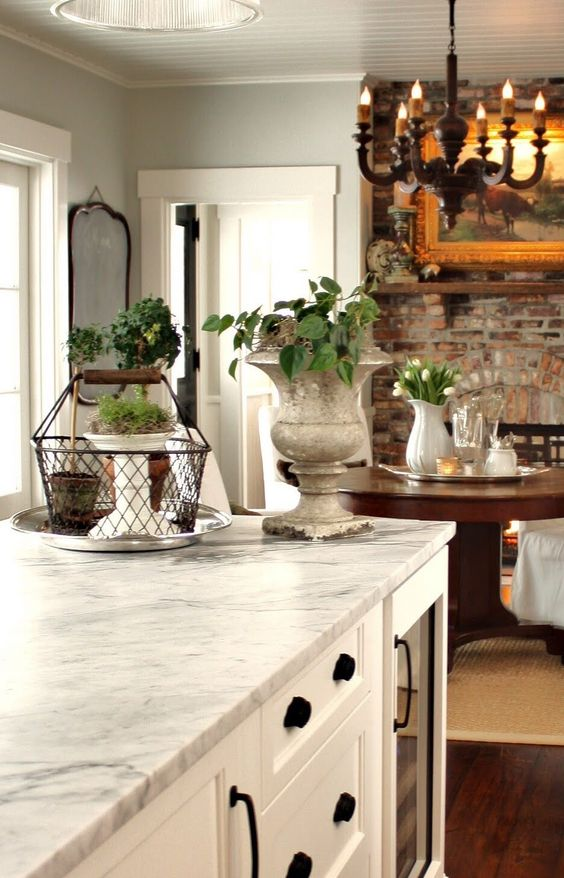 Best Cabinets Trim Ceiling White Dove Wall Color Is Gray 640 x 480