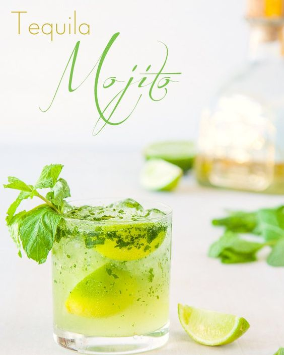 Tequila Mojito | 24 Glorious Ways To Drink More Tequila #whami #cocktails #smoothies