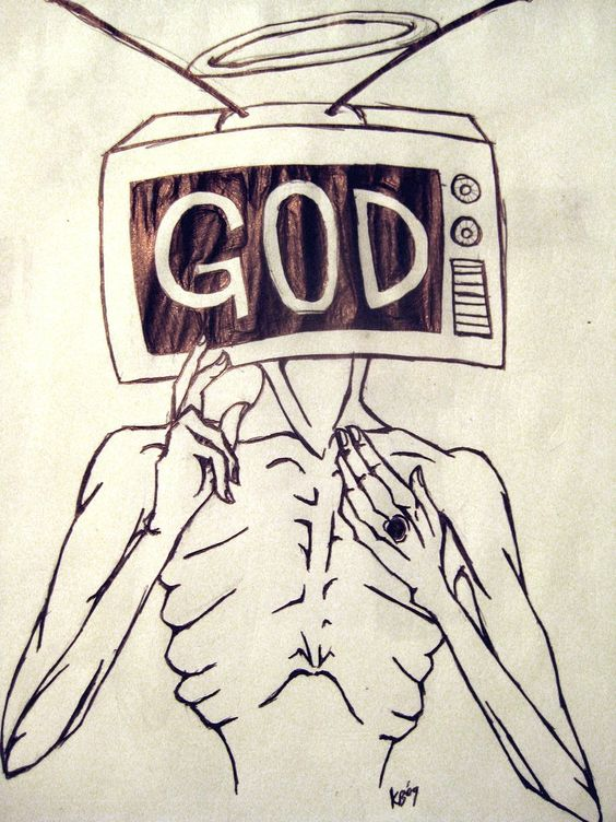 """""""God is in the TV..."""""""