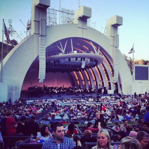 | Hollywood Bowl, before the show W/ Barry Manalow on July 4th,SOLD OUT!!: Barry Manilow, 4Th Sold, July 4Th, Hollywood Bowl, Barry Manalow