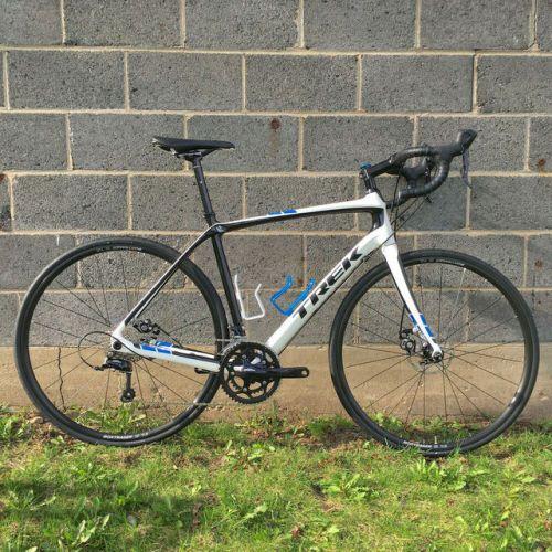 Buy 2016 Trek Domane 4 0 Disc Endurance Carbon Road Bike 56cm Bike Riding Benefits Carbon Road Bike Road Bike