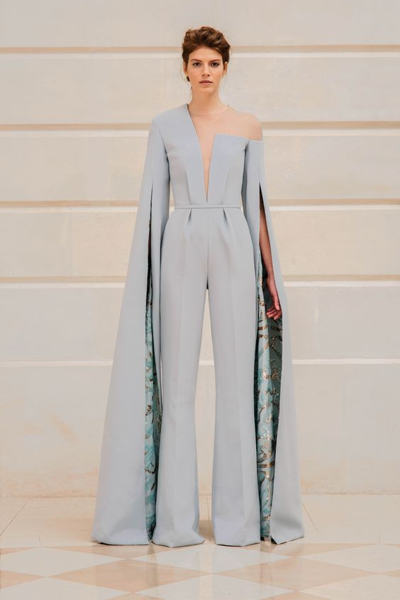 K'Mich Weddings - wedding jumpsuit - Rami Al Ali