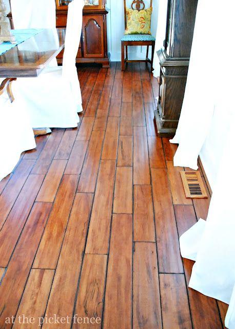 My new dining room floors