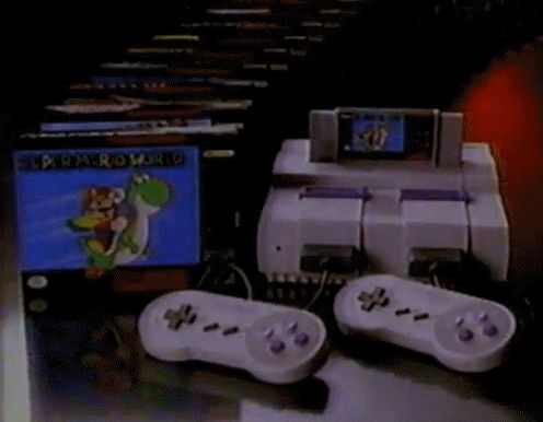 Super Nintendo Entertainment System.